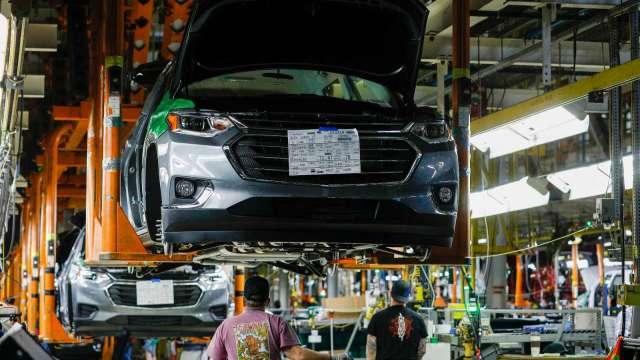 車用晶片荒好轉 通用看好上半年獲利 股價改寫新高(圖片:AFP)