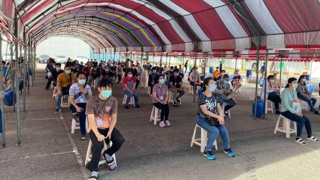 京元電三廠區全面停工消毒兩日 估影響6月營收4-6%。(圖:京元電提供)