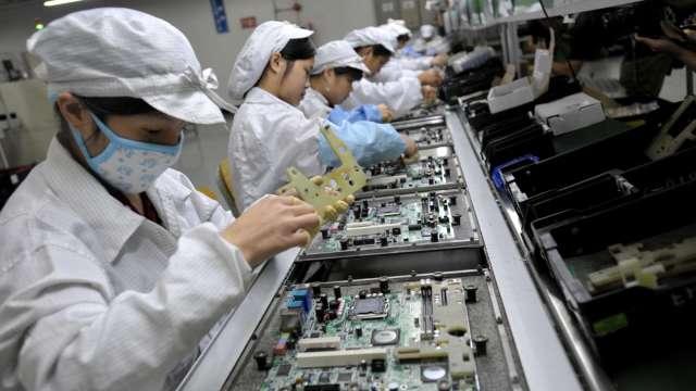 全訊5月營收年增53%,南科三廠明年首季完工投產。(圖:AFP)