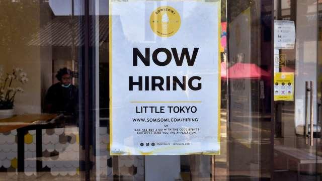 加薪還是找不到人 缺工如何成為美國復甦隱憂  (圖:AFP)