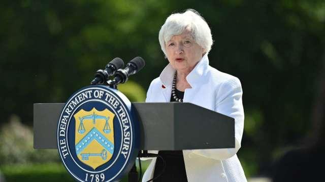葉倫看美國通膨率 今年將攀升至3%。(圖:AFP)