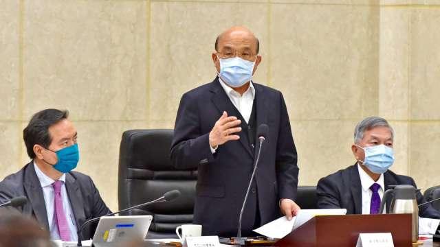 行政院拍板 全國疫情三級警戒延長至6月28日。(圖:行政院提供)