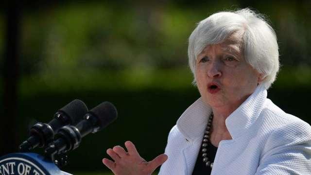 財長葉倫:利率上升對聯準會而言是件「好事」(圖:AFP)