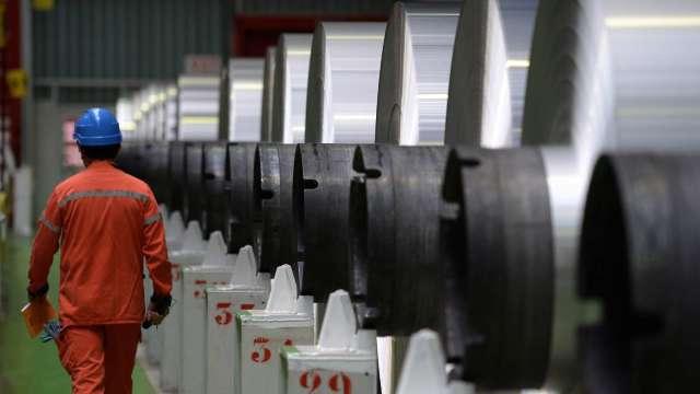 中鴻5月盤價漲幅擴大 營收45.51億元創2年半新高。(示意圖:AFP)