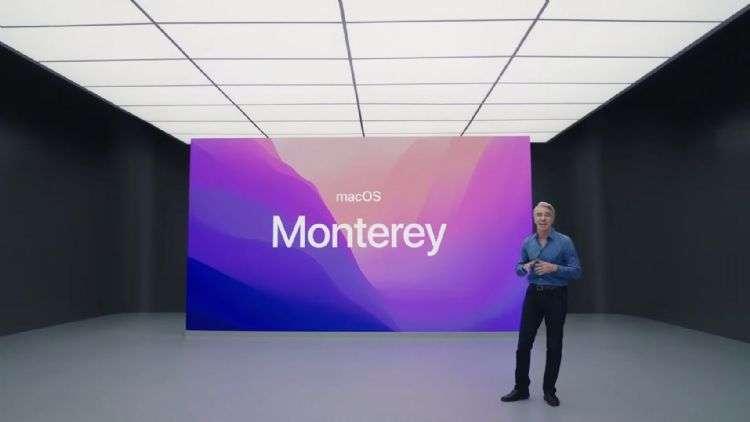 蘋果推出了適用於 Mac 的 macOS Monterey (圖片:蘋果)