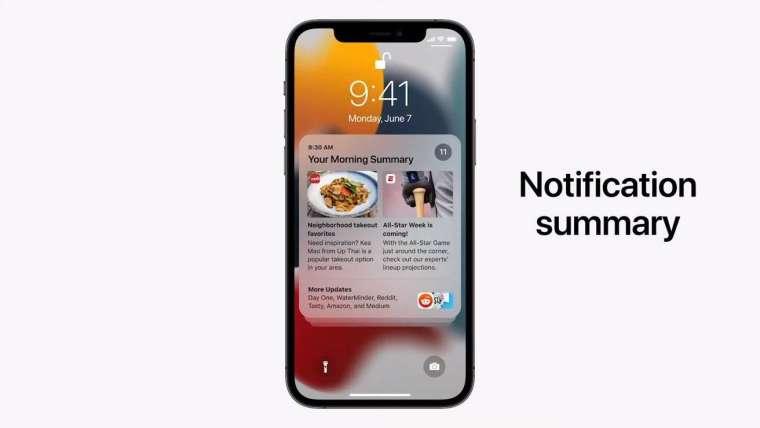 增加「專注」(Focus) 訊息通知新功能 (圖片:蘋果)