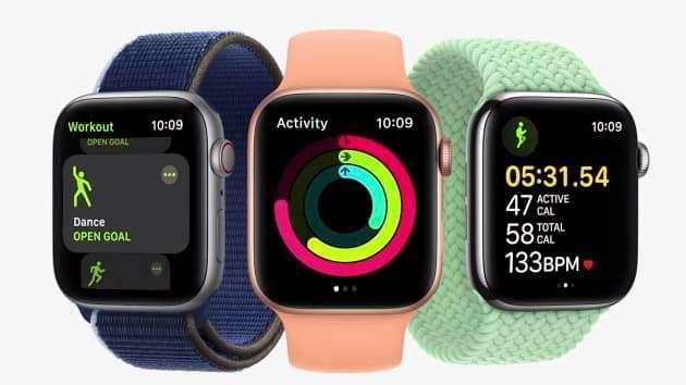 WatchOS 8 添新款健康功能(圖片:蘋果)