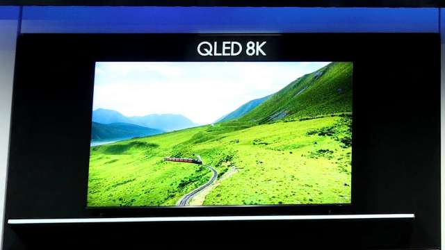 韓媒:三星Q1廠將於下半年正式投產QD面板 (圖片:AFP)