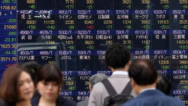 日本5月461家企業破產 較去年同期高出6成 (圖片:AFP)