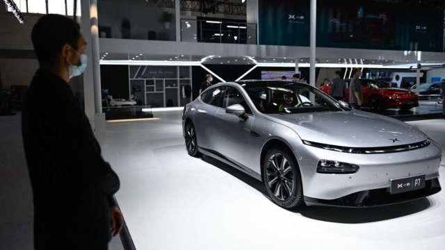 中國5月份汽車銷售成長放緩 新能源車零售表現突出 增177%(圖:AFP)