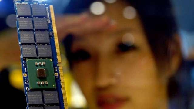 報告:記憶體晶片第3季將再漲價 今年銷售有望成長逾30%(圖:AFP)
