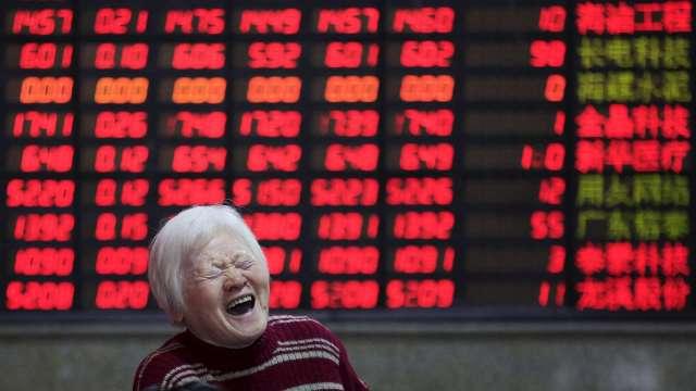 陸股誘人!吸引北上資金大舉流入創「單日、單周」新高。(圖:AFP)