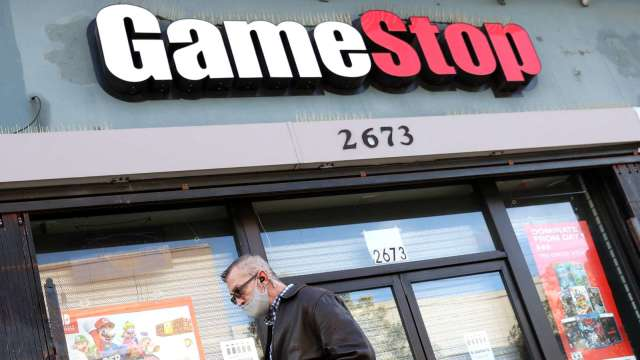 〈財報〉GameStop首季營收年增25% 高層大換血拚電商轉型(圖片:AFP)