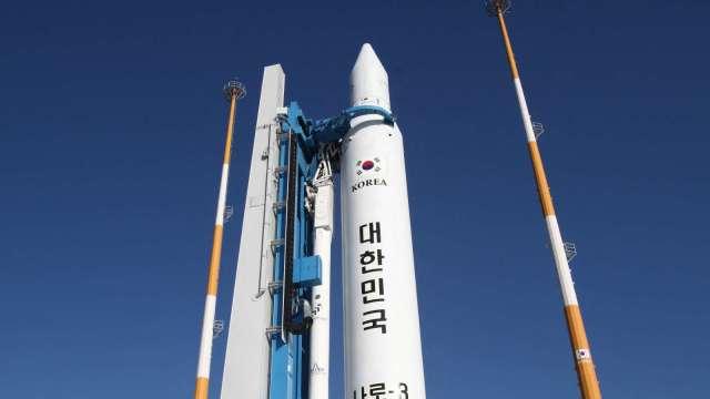 韓國拚太空科技 上百顆衛星將於10年內送上宇宙 (圖片:AFP)