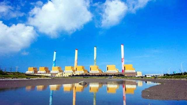 台中火力發電廠。(圖:台電提供)