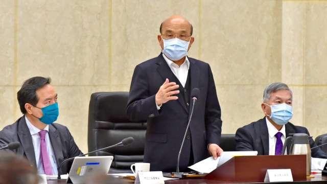 行政院長蘇貞昌。(圖:行政院提供)