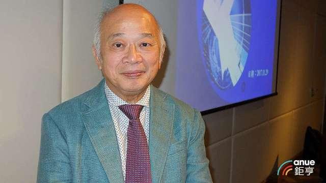 威宏董事長洪永裕。(鉅亨網記者張欽發攝)