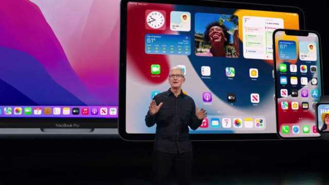 歐盟推動蘋果允許替代版App Store。(圖片:AFP)