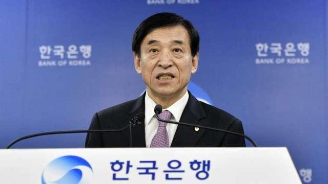 南韓央行:將尋求及時、有序地讓利率正常化(圖:AFP)