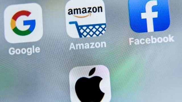 WSJ:眾議院將提草案 亞馬遜、蘋果等科企恐被迫剝離資產 (圖:AFP)