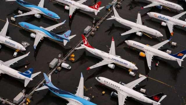 〈觀察〉歐美航空市況谷底升空供應鏈有感 喜迎回補庫存潮。(圖:AFP)