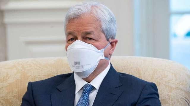 摩根大通 (小摩) 執行長戴蒙 (資料圖片:AFP)
