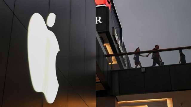 疫情干擾 蘋果供應鏈增加中國出貨比重(圖片:AFP)