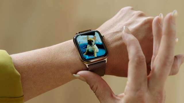 傳蘋果新款Apple Watch 將具體溫、血糖監測功能(圖片:AFP)