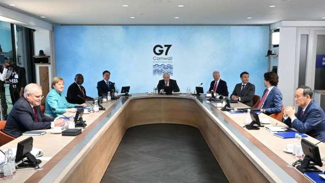 日韓元首G7未能面對面會談 取消原因雙方說法不一 (圖片:AFP)