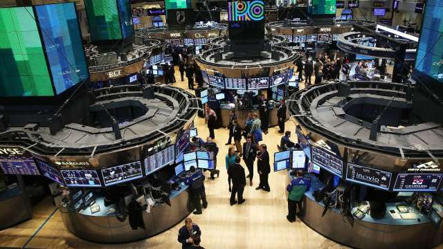 〈美股盤後〉美歐關稅戰休兵5年 標普連三紅止步。(圖片:AFP)
