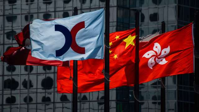 【袁志峰專欄】南向資金謹慎,港股難有起色 (圖片:AFP)