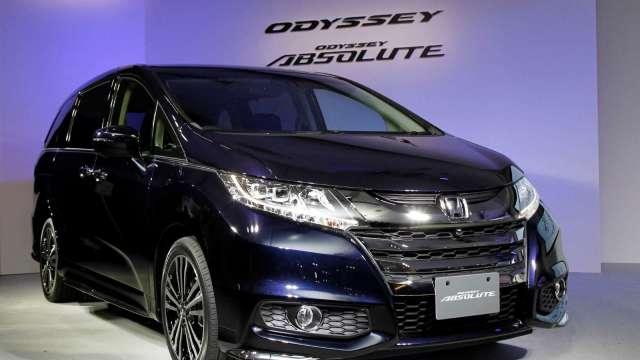 Honda宣布停產燃料電池車 Odyssey也將成絕響 (圖片:AFP)