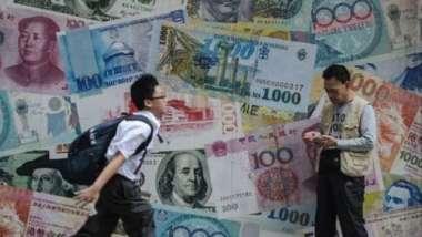 亞洲國家外匯存底創7年新高 有望避免「縮減恐慌」重演(圖:AFP)