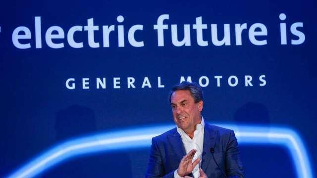 通用加碼電動車投資 擬砸350億美元並在美設立兩座電池廠 (圖:AFP)