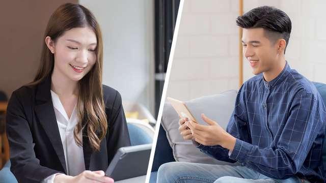 遠距服務利器 中壽業界首創刷臉投保獲准試辦。(圖:中國人壽提供)
