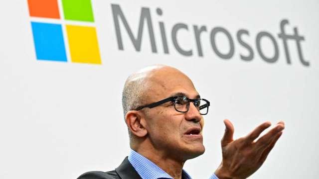 微軟CEO納德拉領導受肯定 將兼任董事長(圖:AFP)