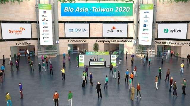 2021年亞洲生技大會以線上呈現。(圖:大會提供)