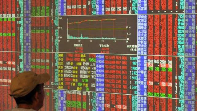 台積電驚奇填息秀 台股急拉漲82點收17390點 短均失而復得。(圖:AFP)