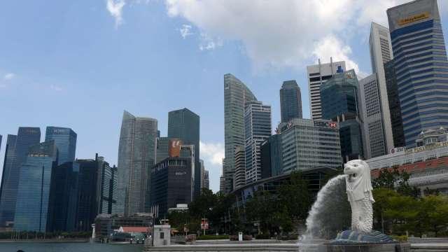 新加坡5月出口續增8.8% 但低於市場預期(圖片:AFP)