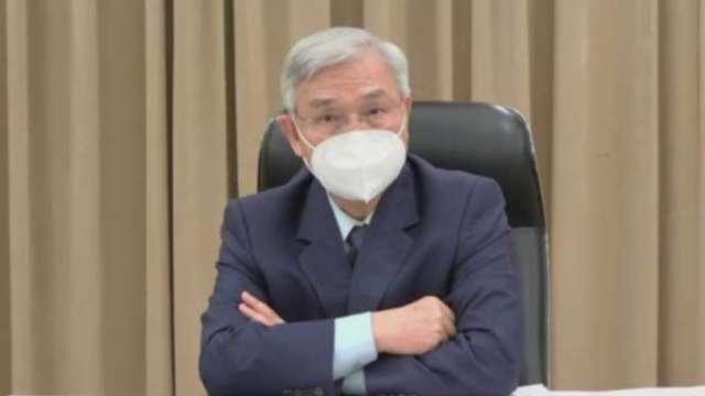 台灣央行今日召開第二季理監事會議。(圖:取自理監事會後記者會直播畫面)