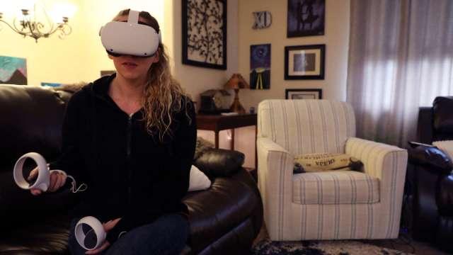 Oculus廣告上線後 臉書祖克柏大談VR健身 (圖片:AFP)