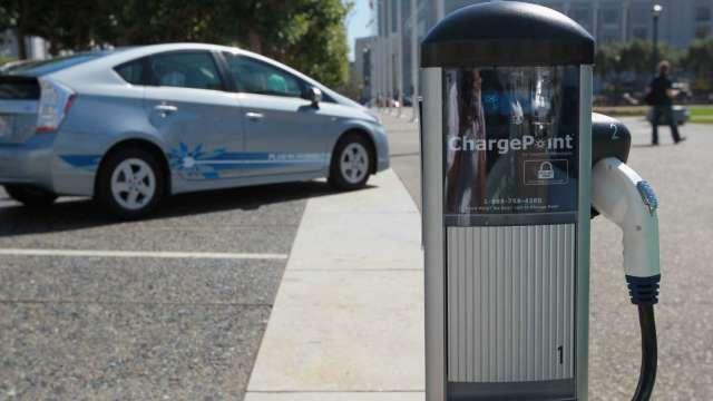 福特收購Electriphi 布局電動車充電業務(圖片:AFP)