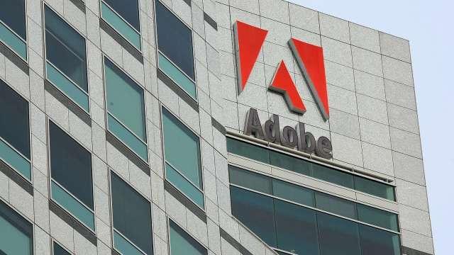 Adobe Q2營收獲利均高於預期 盤後漲近3% (圖片:AFP)