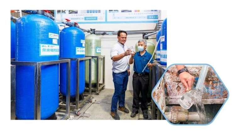 採用工研院的技術可減少 3 到 5 成的用水量,換算下來至少節省了 70% 至 80% 成本,最重要的是替電鍍業者解決了最頭痛的廢水及汙泥問題。