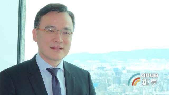 高力國際董事總經理劉學龍。(鉅亨網記者張欽發攝)