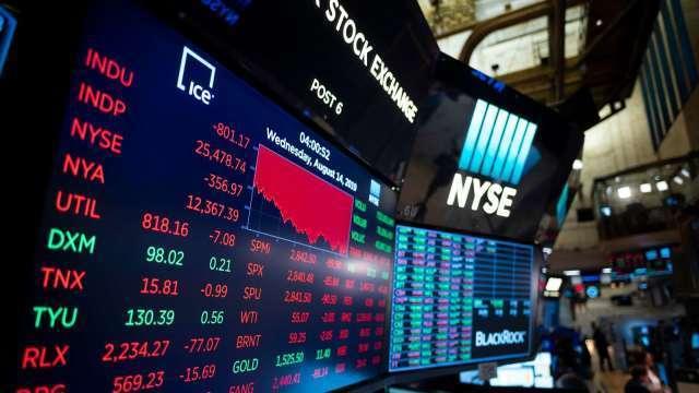 聯準會轉鷹 美元指數跳升。(圖:AFP)
