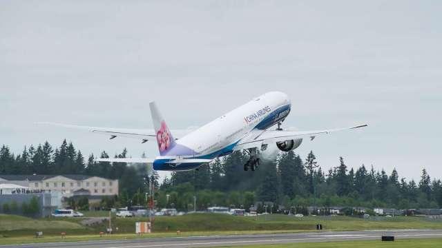 華航客貨運動能雙雙轉強。(圖:華航提供)