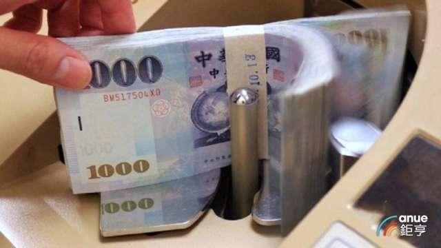 新台幣今日低見27.988元,寫一個月來新低價位。(鉅亨網資料照)