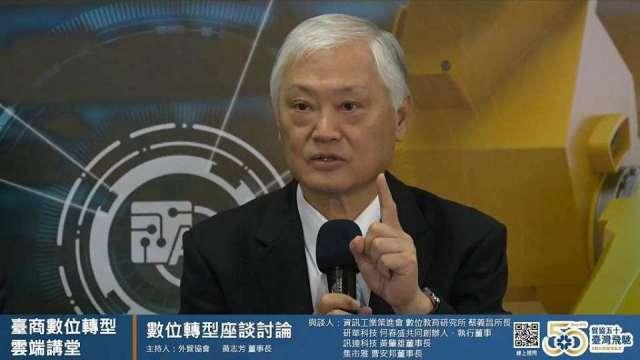 研華執行董事何春盛。(圖:翻攝自貿協Youtube頻道)