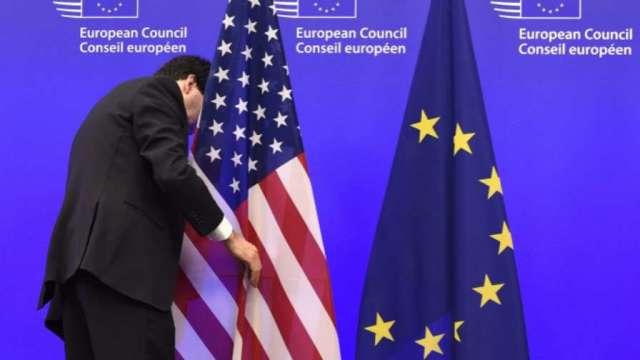 歐盟駐美大使:年底前終結美歐鋼鋁關稅戰。(圖片:AFP)
